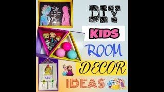 DIY ROOM DECOR 2018 / 3 Easy & Cheap Room decor ideas for kids room / PHILIPPINES