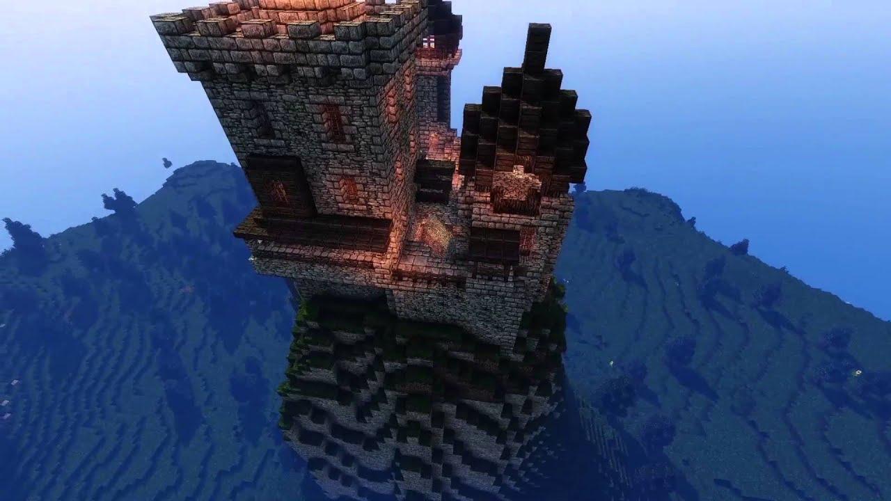 Mountain Keep Timelapse Minecraft Youtube