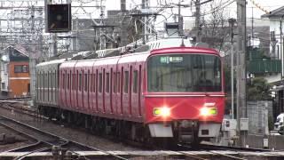 名鉄3500系+3100系 急行 豊川稲荷行き 二ツ杁駅通過