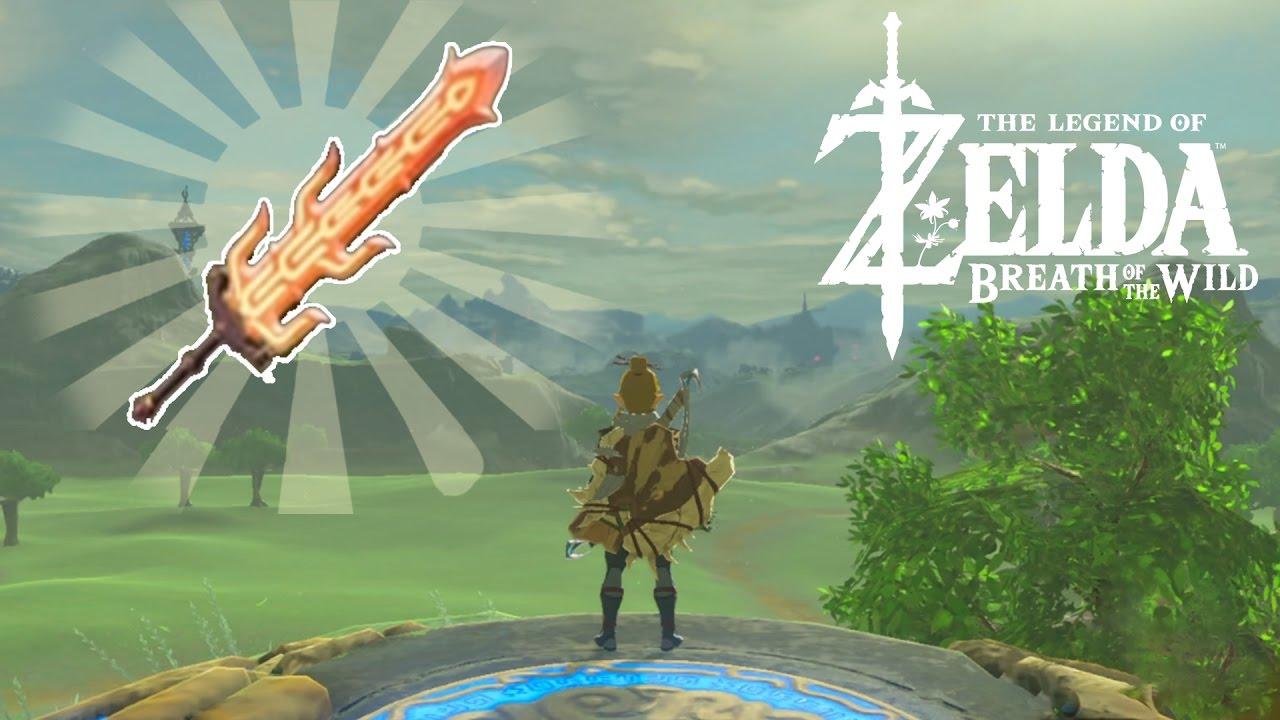 UNE EPEE DE FEU ! [NO SPOIL] Zelda Breath of The Wild