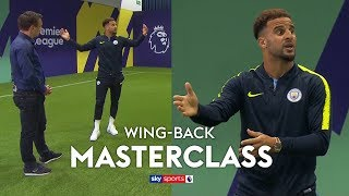 How to play wing-back under Pep Guardiola | Kyle Walker\'s Wing-Back Masterclass