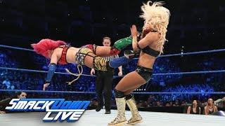 The Kabuki Warriors vs. Mandy Rose & Sonya Deville: SmackDown LIVE, May 14, 2019