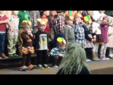 Dylan's First Thanksgiving Program at Wildwood Christian Academy
