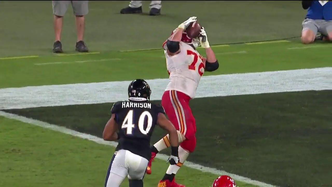 "Eric Fisher ""BIG MAN"" Touchdown   NFL Week 3"