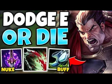OMG! ONE COMBO CAN MELT ANYONE WITH LETHALITY DARIUS! (NO COUNTERPLAY) - League Of Legends