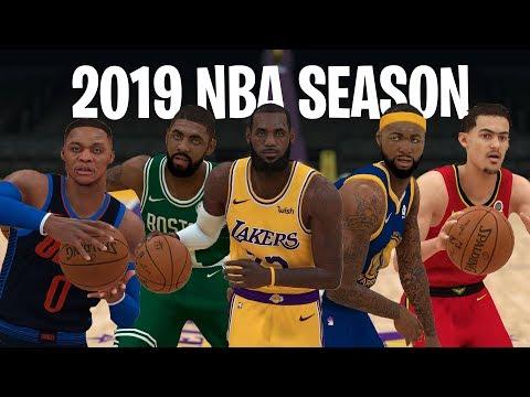 NBA 2K19 Predicts The 2019 NBA Season!