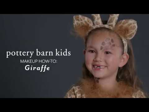 Fun Halloween Makeup Tutorial Giraffe Costume For