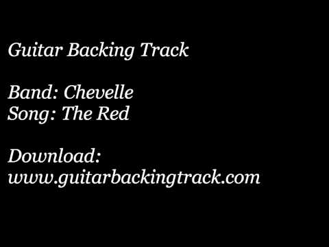 Guitar Backing Track: Chevelle - The Red