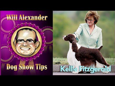 Dog Show Tips  Kellie Fitzgerald Interview