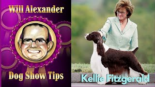 Dog Show Tips  Kellie Fitzgerald Interview
