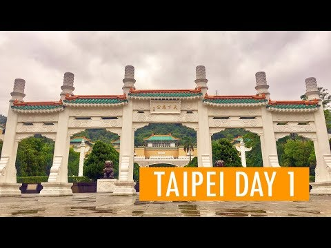 3 Days in Taipei - Day 1 | National Palace Museum, Jiufen Old Street, Keelung Night Market
