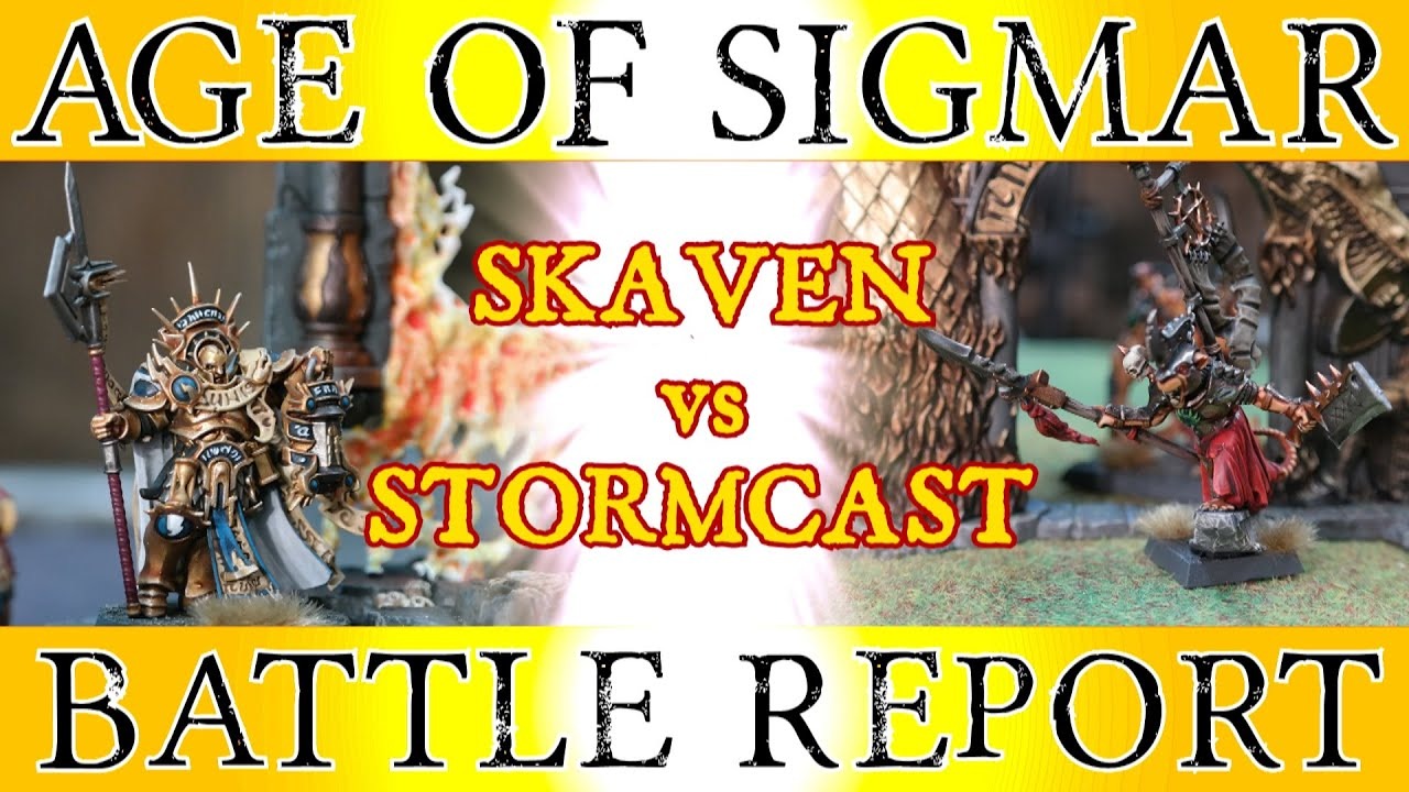 Age of sigmar battle report miniwargaming location