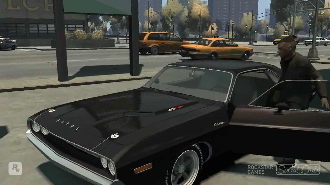 Gta Iv 1970 Dodge Challenger R T Hemi Mod Hd Youtube