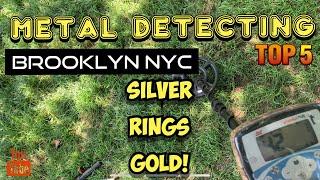 Metal Detecting New York City. Rings, Silver & Gold!
