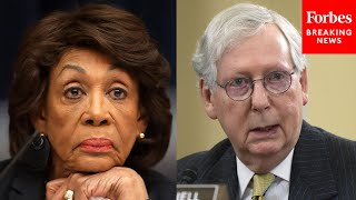 """JUST IN: Mitch McConnell Condemns """"Inappropriate"""" Comments By Maxine Waters On Derek Chauvin Trial"""
