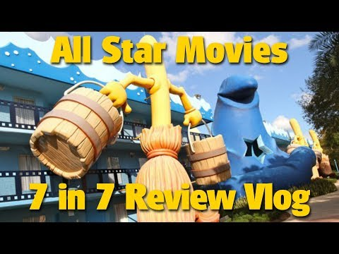 Disney's All Star Movies Resort | 7 in 7 Review Vlog