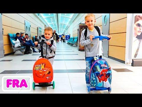 Vlad et Nikita et un nouveau voyage en famille