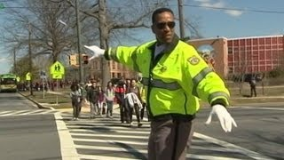 Former NBA Player Adrian Dantley Now a School Crossing Guard