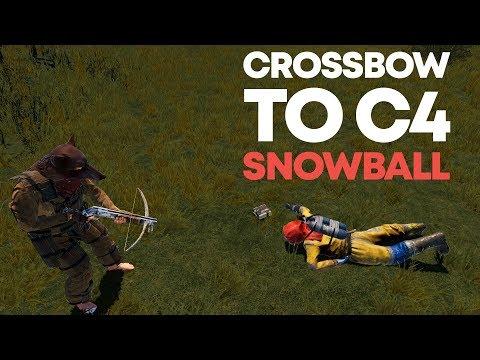 Crossbow To C4 Snowball | Rust Trio thumbnail