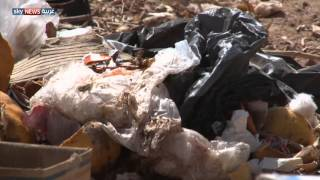 تكدس القمامة بأحياء سكنية في الخرطوم