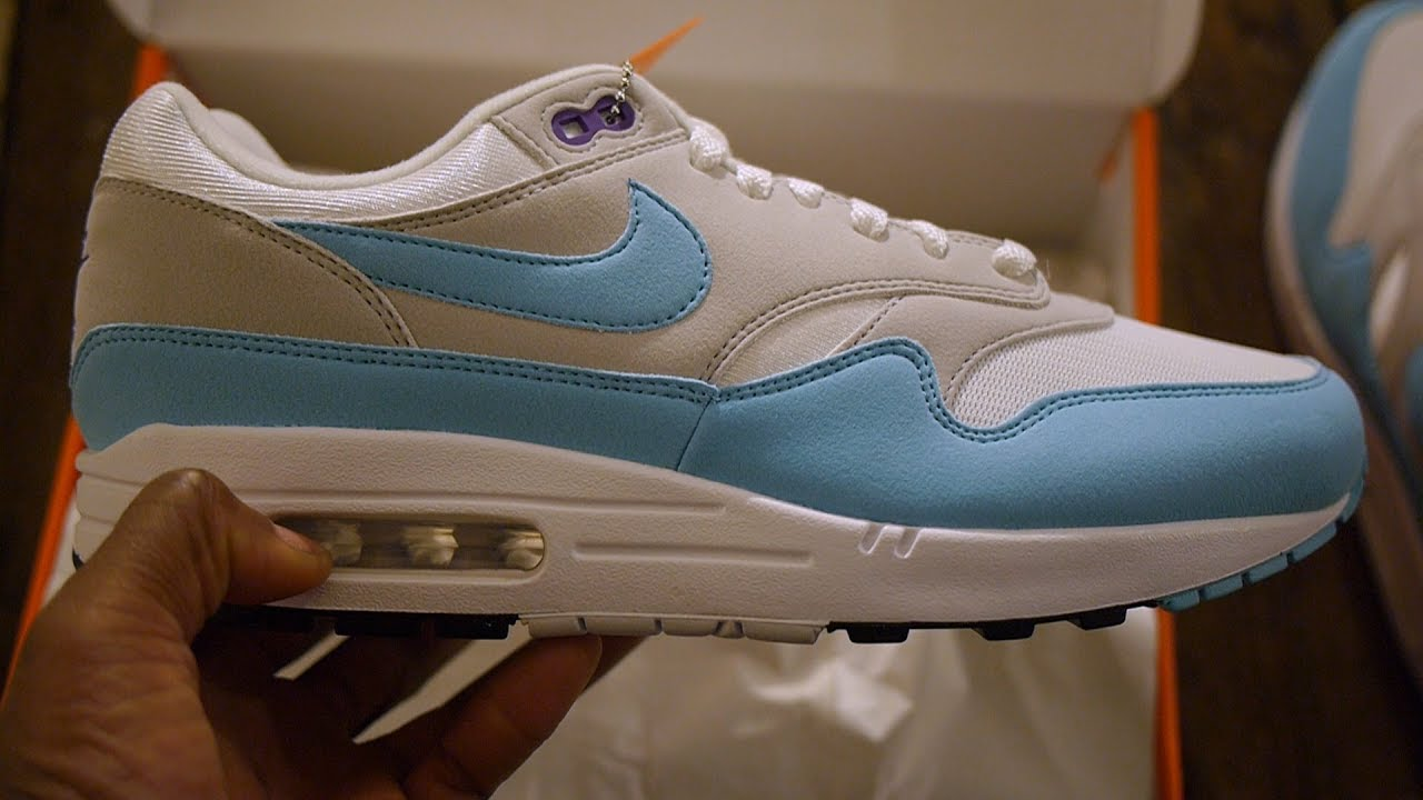 d3464bca42 Air Max 1 Aqua Quick Look & Unboxing (Anniversary) - YouTube