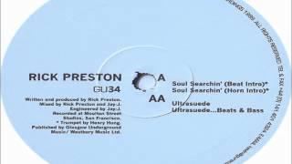 Rick Preston - Ultrasuede 1999 GLASGOW UNDERGROUND