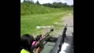 Daughter shooting Bushmaster BA50 .50BMG