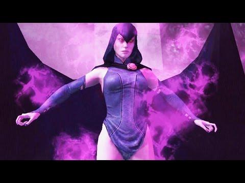 Teen Titan Raven Gameplay Pt 17 - Injustice: Gods Among Us