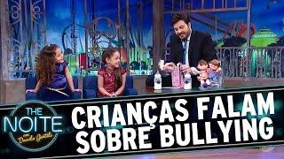 The Noite (27/10/16) - Leite Show: As crianças falam sobre bullying
