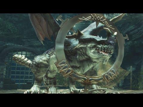 Final Fantasy XII HD Remaster: Tiamat Boss Fight (1080p)