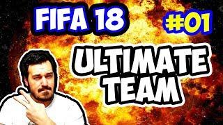 Fifa 18 Ultimate Team / Div 1 Yolculuğu / Türkiye Ligi Kadrosu İle Başlıyoruz Hadi Hayırlısı / #01
