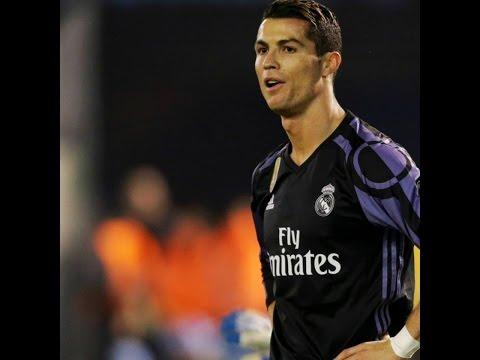 GOL de Cristiano Ronaldo al Celta, Copa del rey  25/01/2017