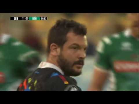 Guinness PRO14 2018/19, Rd 21: Zebre Rugby Club vs Benetton Rugby 11-25 HIGHLIGHTS