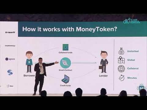 MoneyToken Pitch at d10e conference  in Seoul (Alex Fisun, COO of MoneyToken)