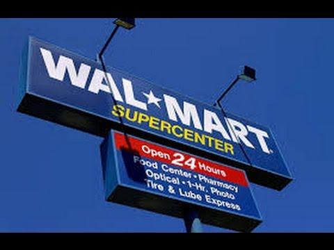 Vakantie in Amerika: Shoplog Walmart