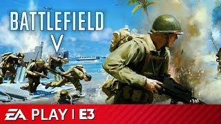 Battlefield V - Iwo Jima Map Reveal   EA Play E3 2019