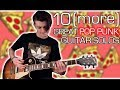 10 (more) Great Pop Punk Guitar Solos w/ Tabs