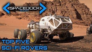 Top Five Sci-Fi Rovers