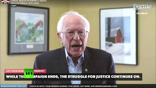 'Victory is virtually impossible' | Sanders suspends 2020 Democratic presidential campaign