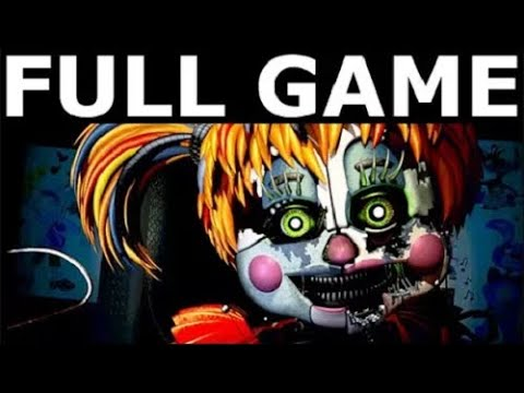 Freddy Fazbear's Pizzeria Simulator - Full Game Walkthrough Gameplay & Ending (No Commentary)