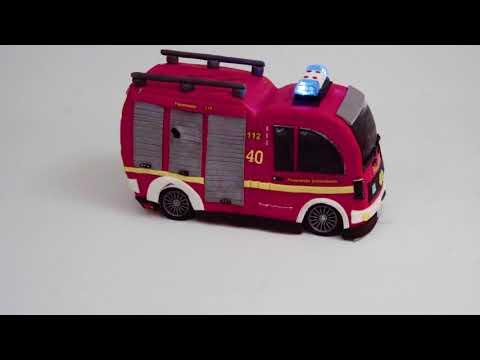 fahrendes-feuerwehrauto---torte-mit-licht-und-sirene