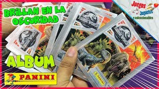 Album Jurassic World: Fallen Kingdom Panini ★ juegos juguetes y coleccionables ★