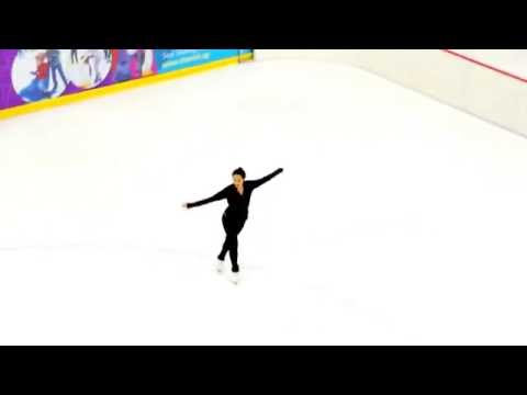 Female Figure Skating Training in Singapore of Asia