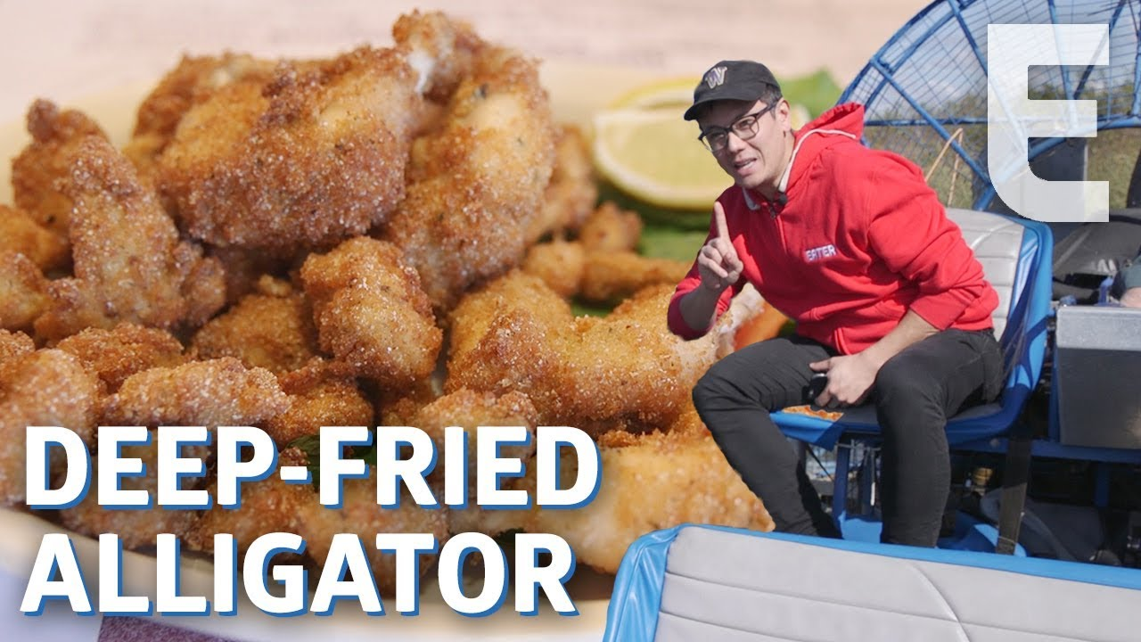 Would You Eat Deep Fried Alligator Meat? — Dining on a Dime