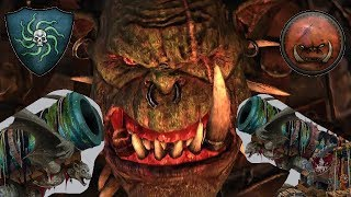 Vampire Coast vs Greenskins | BESS MEETS GRIMGORE - Total War Warhammer 2