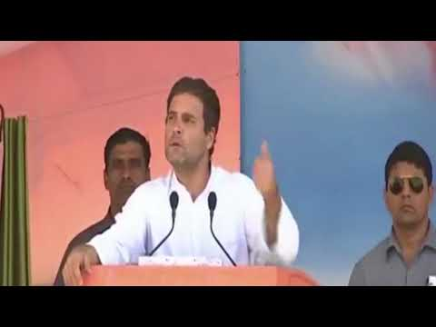 Congress VP Rahul Gandhi speech in Mandi, Himachal Pradesh