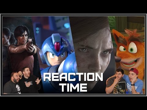 PlayStation Experience 2016 Full Conference - Reaction Time!