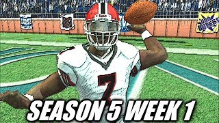 MIKE VICK THANK YOU - MADDEN 07 FALCONS FRANCHISE VS LIONS - S5W1
