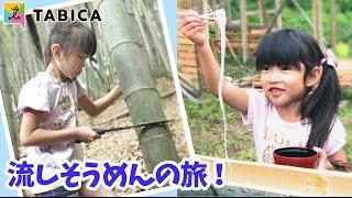 【納涼!流しそうめん】竹を切り出し、1からつくる流しそうめんをする旅!★にゃーにゃちゃんねるnya-nya channel