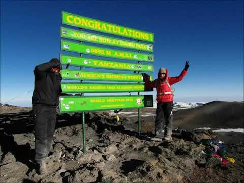 Jimmy & Diana bestiger Kilimanjaro